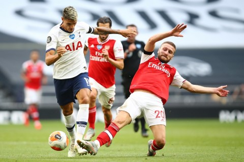 Tottenham Menangi Derbi London Kontra Arsenal