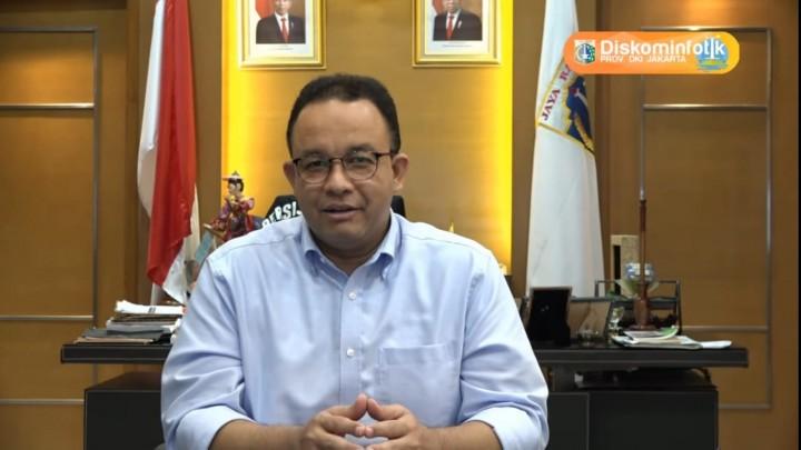 Anies Ingatkan Penularan Covid-19 di Transportasi Umum Tinggi