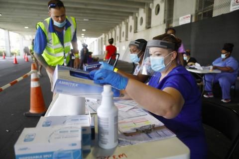 Florida Laporkan Lebih dari 15.000 kasus Covid-19 dalam Sehari