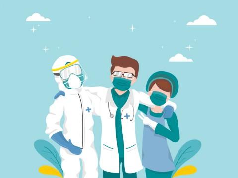89 Tenaga Kesehatan Gugur Selama Pandemi
