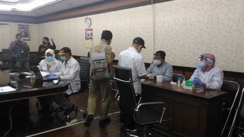 Ruang Fraksi Golkar DPRD Jateng Di-<i>lockdown</i>