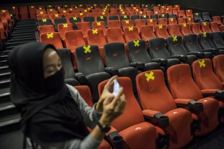 Gugus Tugas Belum Rekomendasi Bioskop Dibuka