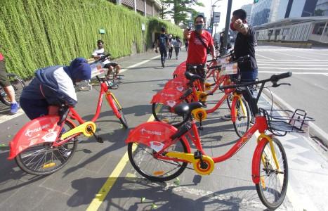 Stasiun Penyewaan Sepeda Akan Ditambah