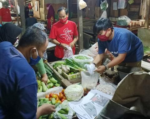 5,5% Pedagang di Pasar Jakarta Positif Covid-19