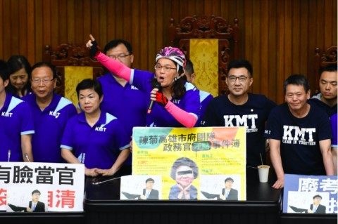 Anggota DPR Taiwan Baku Hantam saat Rapat Parlemen
