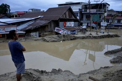 Kondisi Masamba Pascaditerjang Banjir Bandang