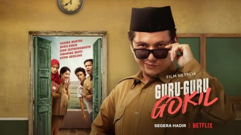 Film Guru Guru Gokil Bakal Tayang di Netflix dalam 17 Bahasa