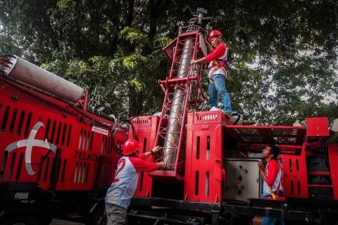Telkomsel: Jaringan di Luwu Utara 90% Pulih