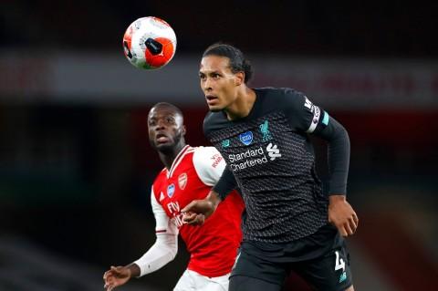 Ditundukkan Arsenal, Liverpool Gagal Hiasi Gelar dengan Rekor