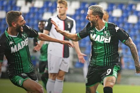 Juventus Tahan Imbang Sassuolo dengan Drama Enam Gol