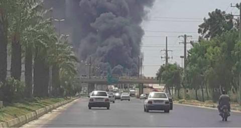 Tujuh Kapal Terbakar Secara Misterius di Pelabuhan Iran