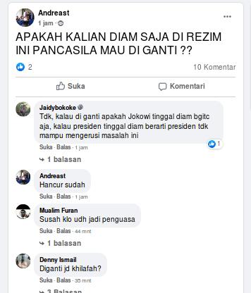 [Cek Fakta] Pancasila akan Diganti oleh Jokowi? Cek Faktanya
