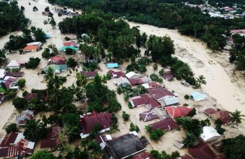 Banjir Luwu Utara, Akses Jalan Trans Sulawesi Masih Terputus
