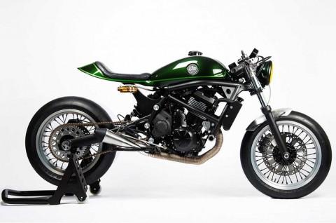 Modifikasi Kawasaki Vulcan S Bergenre Cafer Racer