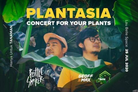 Bottlesmoker Gelar Konser Plantasia Khusus untuk Tanaman