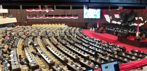 Rapat Paripurana DPR Digelar dengan Protokol Kesehatan Ketat