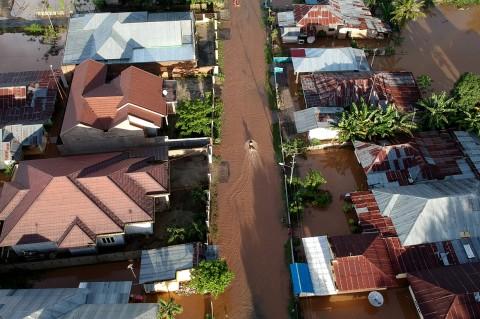 Banjir Rendam Enam Desa di Bone Bolango