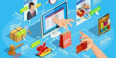 Kredit Digital Terdongkrak Transaksi <i>e-Commerce</i>