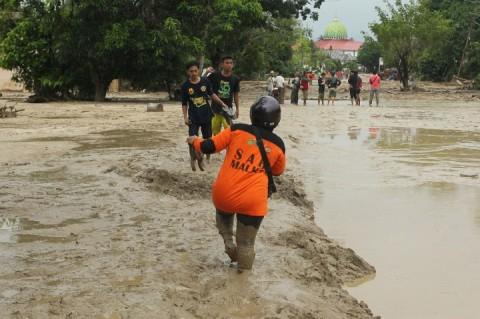 Banjir Luwu Utara Belum Berstatus Bencana Nasional