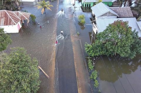 Banjir Rendam 14 Kecamatan di Konawe