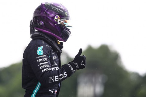 Hamilton Raih Pole Position di GP Hungaria