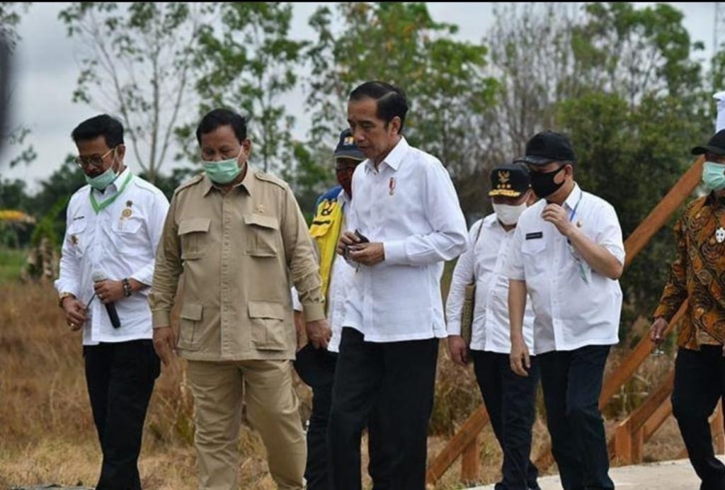 Penunjukan Prabowo dalam Program Food Estate Diapresiasi