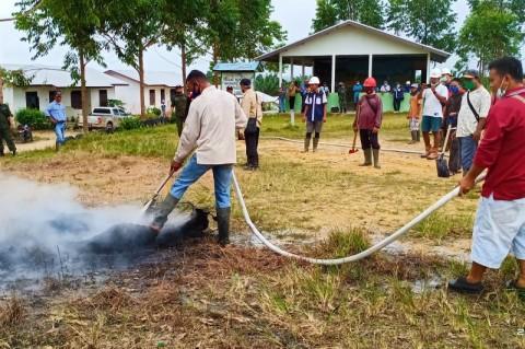 Kapuas Hulu Bentuk Komando Siaga Darurat Penanganan Karhutla