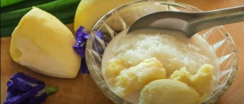 Cara Membuat Nasi Ketan Durian
