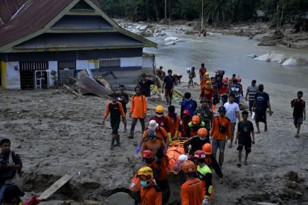 Banjir di Masamba Akibat Akumulasi Curah Hujan