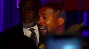 Rapper Kanye West Menangis di Kampanye Perdana Pilpres AS