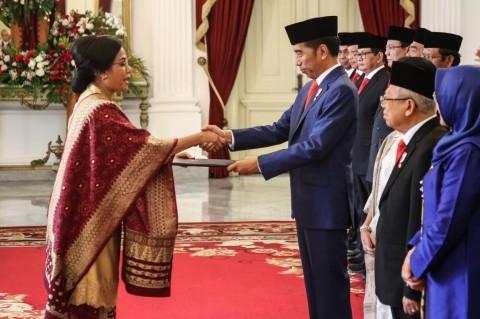 Di Depan Jokowi, Ramalan Jaya Suprana Meleset soal Sri Mulyani