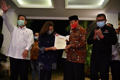 Gerindra Resmi Usung Muhammad-Rahayu di Pilkada Tangsel