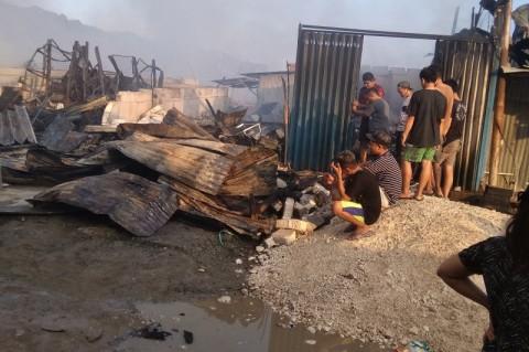 Ratusan Kios di Pasar Youtefa Abepura Terbakar