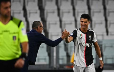 Sarri Sanjung Ronaldo Usai Cetak Gol ke Gawang Lazio