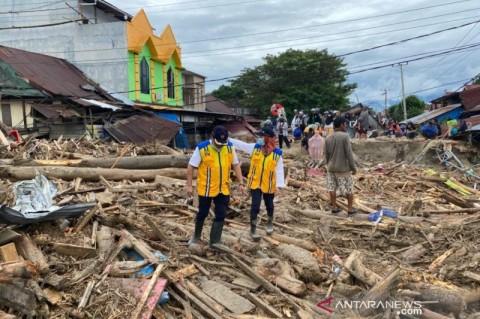 Bangunan Terdampak Banjir di Luwu Utara Diidentifikasi