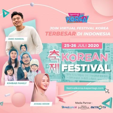Festival KapanLagi Korea Digelar Virtual Tahun Ini