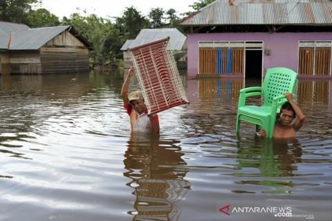 4.046 Jiwa Mengungsi Akibat Banjir Konawe Sultra