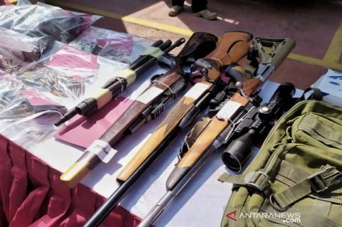 Pengusaha Bengkel di Bandung Rakit Senjata Api Ilegal