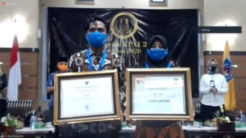 Bulqia, Siswa Difabel Peraih Anugerah KPAI 2020