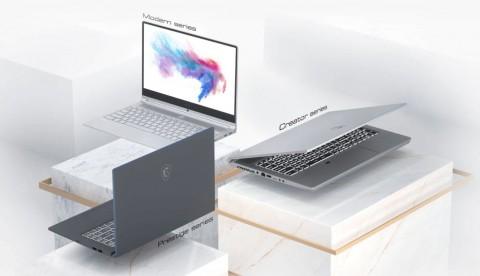 Jajaran Laptop MSI Versi Intel Generasi ke-10