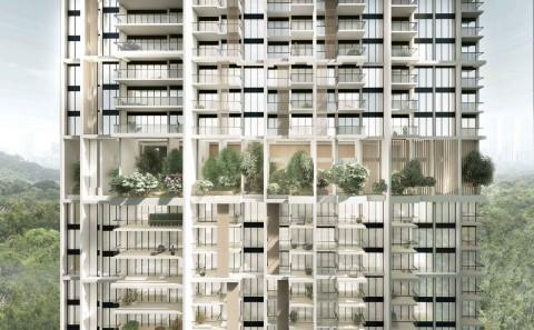 Apartemen Prefabrikasi Tertinggi di Dunia