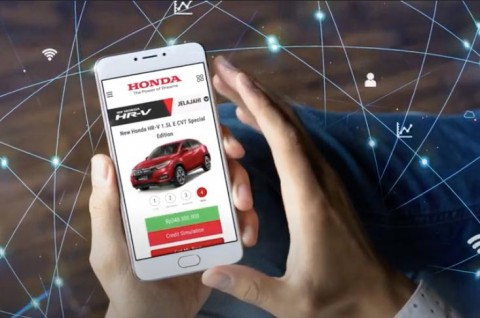 Honda Sambut Pameran Mobil Virtual