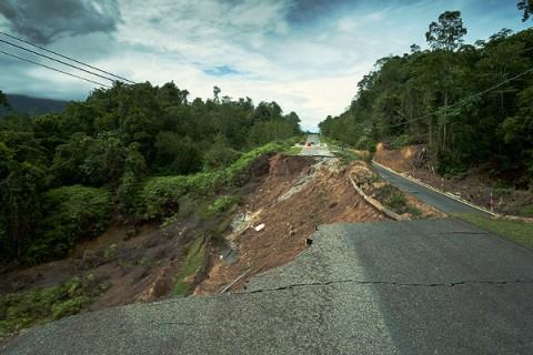Kota Tarakan Antisipasi Bencana Tanah Longsor