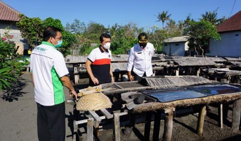 Pemkab Klungkung Luncurkan Garam Beryodium Kusamba