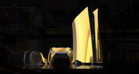 Ada PS5 Berlapis Emas 24 Karat untuk 'Sultan'