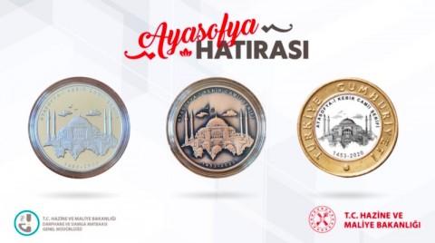 Turki Buat Koin Khusus untuk Hagia Sophia