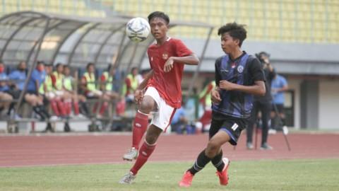 Timnas U-16 Menang Telak pada Laga Uji Coba