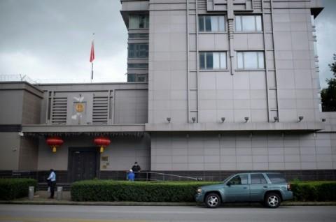 Pejabat AS Bobol Pintu Konsulat Tiongkok di Houston