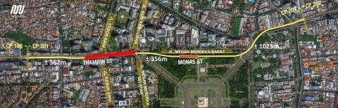 MRT Jakarta Fase II Bangun 8 Stasiun Baru