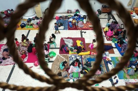 Menengok Pengungsian Korban Banjir Gorontalo